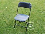 Folding Chair, black 44x44x80 cm, 8 pcs. - 12