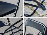 Folding Chair, black 44x44x80 cm, 8 pcs. - 13