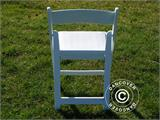 Padded Folding Chairs 44x46x77 cm, White, 4 pcs. - 11
