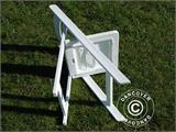 Padded Folding Chairs 44x46x77 cm, White, 4 pcs. - 13