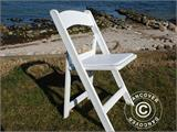Padded Folding Chairs 44x46x77 cm, White, 4 pcs. - 14