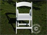 Padded Folding Chairs white 44x46x77 cm, 8 pcs. - 10