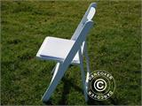 Padded Folding Chairs white 44x46x77 cm, 8 pcs. - 12