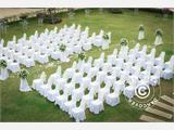 Chair cover for 44x44x80 cm chair, White - 4