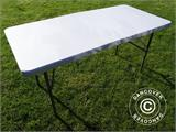 Folding Table 150x72x74 cm, Light grey (25 pcs.) - 3