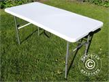 Folding Table 150x72x74 cm, Light grey (25 pcs.) - 8