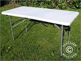 Folding Table 150x72x74 cm, Light grey (25 pcs.) - 9