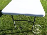 Folding Table 150x72x74 cm, Light grey (25 pcs.) - 10