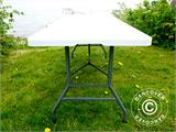 Folding Table PRO 182x74x74 cm, Light grey (25 pcs.) - 15