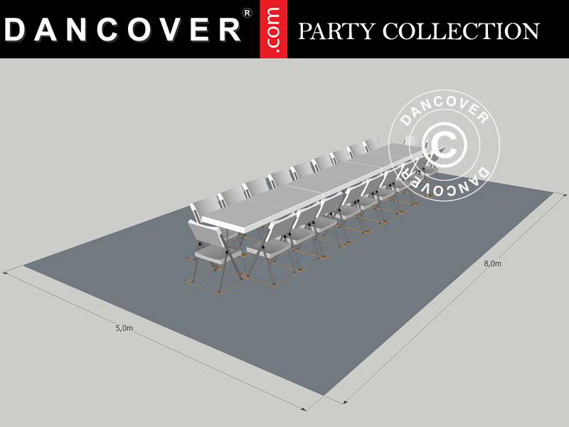 Pacchetto Party 5x8m Dancovershop It