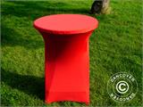 Stretch table cover Ø80x110 cm, Red - 8