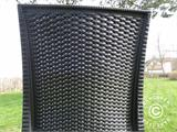 Stacking chair, Rattan Bistrot, Anthracite, 6 pcs. - 4