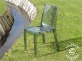 Chair, Hypnotic, Clear Smoked, 16 pcs. - 6