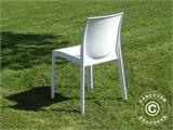 Chaise, Ice, Blanc laqué, 18 pcs - 2