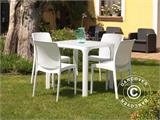 Stacking chair, Boheme, White, 6 pcs. - 4