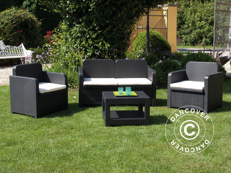 Set di mobili da giardino sorrento antracite dancovershop it