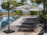 Parasol Cantilever, Roma Round, Ø3m, Sand - 3