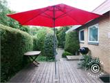 Parasol base for wooden terrace - 5
